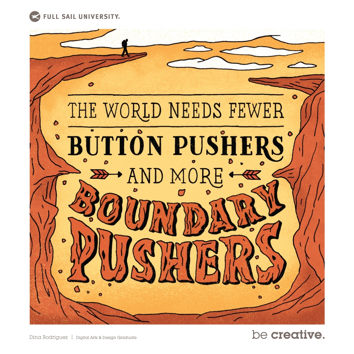View The World Needs Fewer Button Pushers and More Boundary Pushers