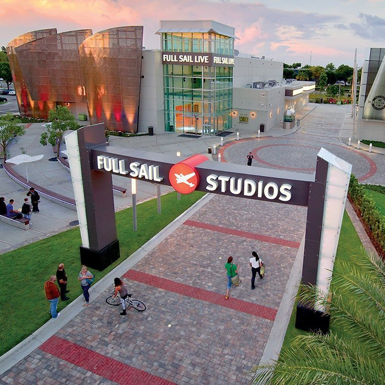 Full Sail's Archway