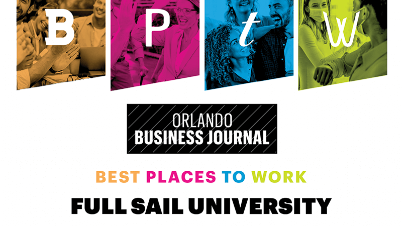 Recognized as one of Orlando Business Journal's Best Places to Work